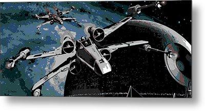 Space Metal Print by George Pedro
