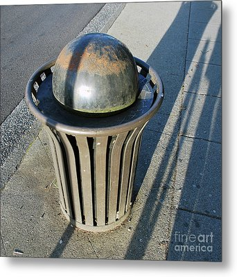 Metal Print featuring the photograph Space Trash by Bill Thomson