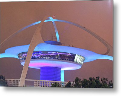 Metal Print featuring the photograph Spaceship by Matthew Bamberg