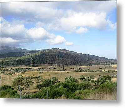 Spain Country Side Near Costa Del Sol Metal Print by John Shiron