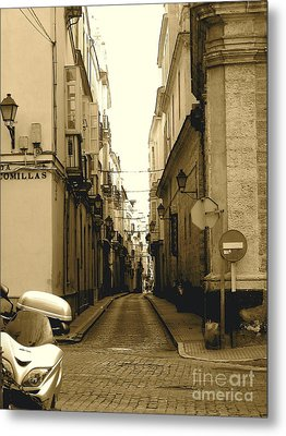 Spain Streets Metal Print by Carly Athan