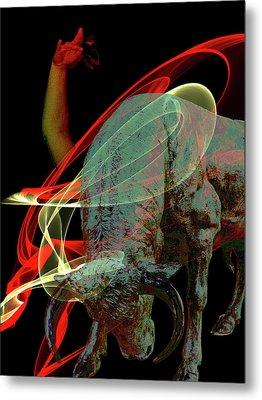 Spanish Air Metal Print by Angel Jesus De la Fuente