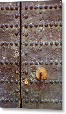 Spanish Door Metal Print by Carlos Caetano