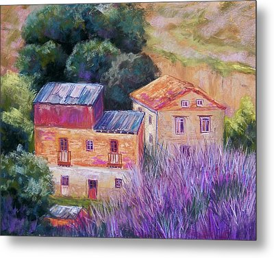 Spanish Farmhouses Metal Print by Candy Mayer
