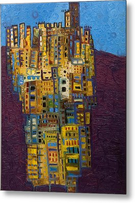 Spanish Skies Metal Print by Maria Curcic