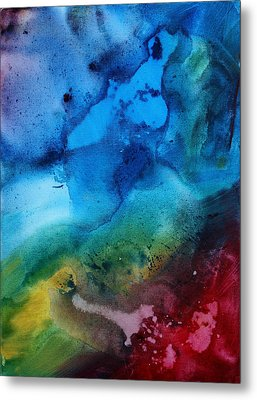 Speak To Me 3 Metal Print by Megan Duncanson