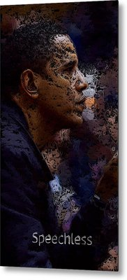 Speechless Two Metal Print