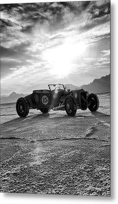 Speed Week Roadster Metal Print