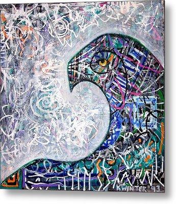 Sphinx Metal Print by Dave Kwinter