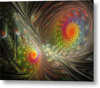 Spiral Space Metal Print