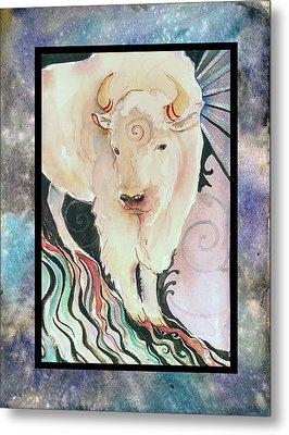 Spirit Buffalo Metal Print