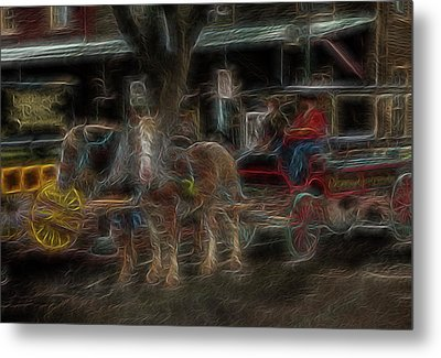 Spirit Carriage 3 Metal Print by William Horden