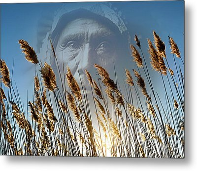 Spirit Of The Sun And Earth Metal Print