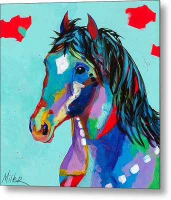 Spirited Metal Print by Tracy Miller