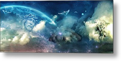 Spiritual  Awakening Metal Print by John Rivera