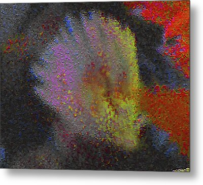 Metal Print featuring the photograph Splash - Abstract Digital Painting by Merton Allen
