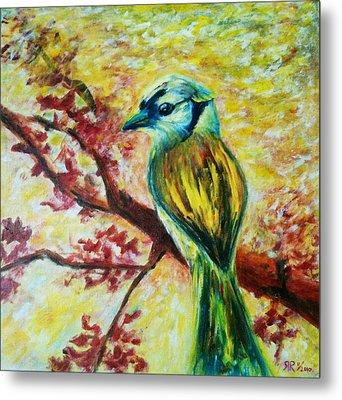 Spring Bird Metal Print by Rashmi Rao