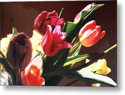 Metal Print featuring the photograph Spring Bouquet by Steve Karol