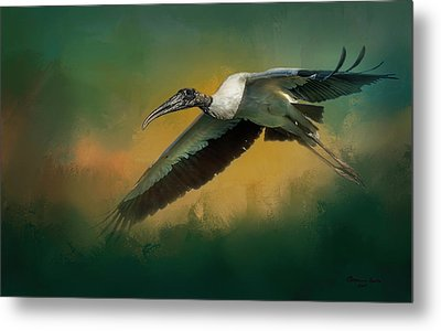 Spring Flight Metal Print by Marvin Spates