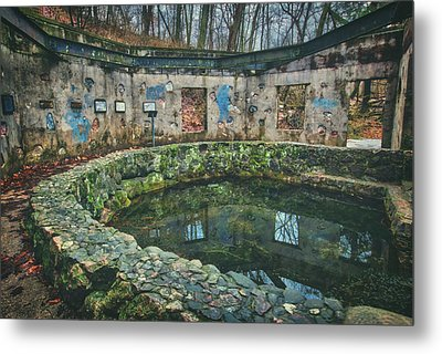Metal Print featuring the photograph Spring House 2 - Paradise Springs - Kettle Moraine State Forest by Jennifer Rondinelli Reilly - Fine Art Photography