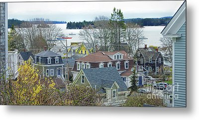 Spring In Maine, Stonington Metal Print by Christopher Mace