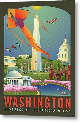 Spring In Washington D.c. Metal Print by Joe Barsin
