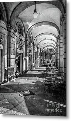 Spring Light In Porticos Metal Print by Italy Art and Soul