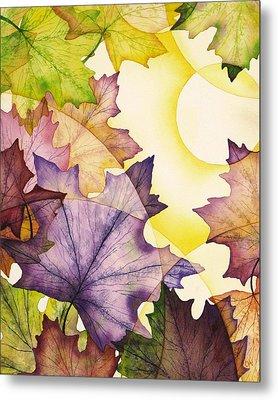 Spring Maple Leaves Metal Print by Christina Meeusen