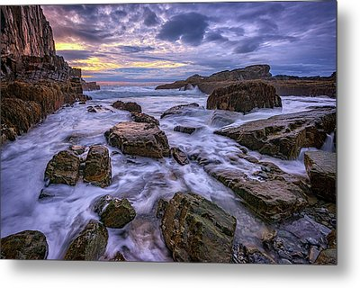 Spring Morn At Bald Head Cliff Metal Print