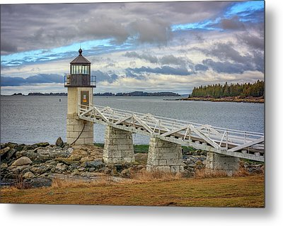 Spring Morning At Marshall Point Metal Print