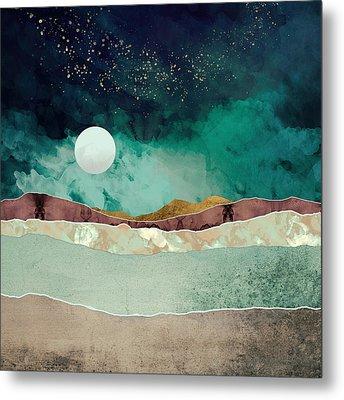 Spring Night Metal Print by Katherine Smit