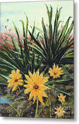 Spring Rising Metal Print by Vickie Scarlett-Fisher