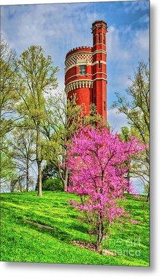 Spring Time At Cincinnati's Eden Park Metal Print by Mel Steinhauer