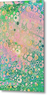 Springtime Festival On Fairy Meadow Metal Print by ARTography by Pamela Smale Williams