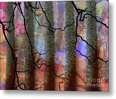 Squiggles And Lines Metal Print by Robert Ball