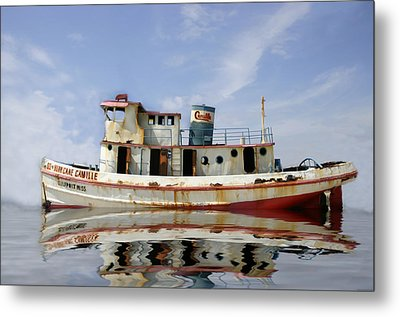 Metal Print featuring the photograph Ss Hurricane Camille by Shelly Stallings