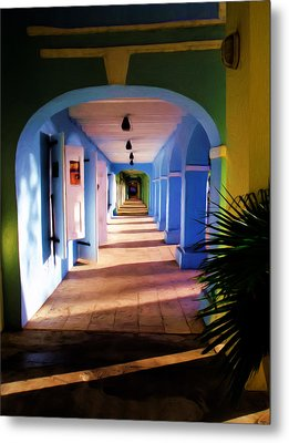 St. Croix Arches  Metal Print by Linda Morland