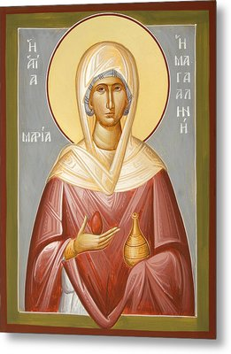 St Mary Magdalene Metal Print by Julia Bridget Hayes