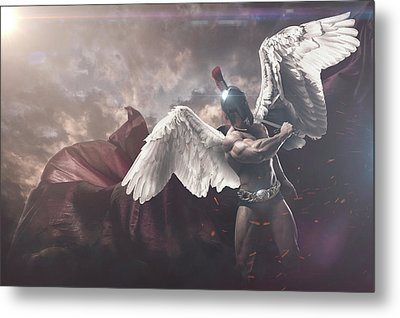 St Michael The Archangel  Metal Print