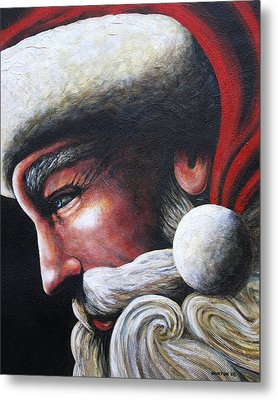 St. Nick Metal Print by Doug Norton