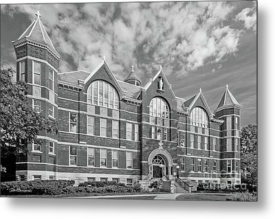 St. Norbert College Main Hall Metal Print by University Icons