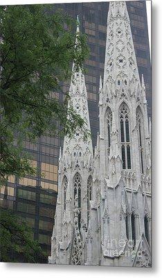 St Patricks Cathedral Metal Print