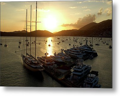 St. Thomas Harbor Metal Print