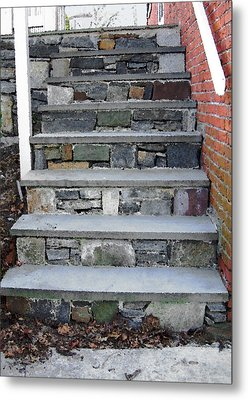 Stairs To The Plague House Metal Print by RC DeWinter