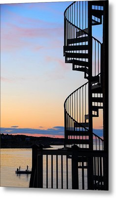 Stairway To Heaven Metal Print by AnnaJanessa PhotoArt