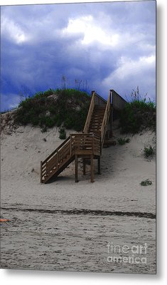 Stairway To Reality Metal Print by Linda Mesibov