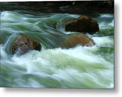 Metal Print featuring the photograph Stand Like A Rock by Marie Leslie