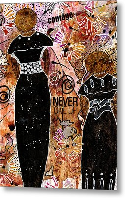 Standing Steadfast In Love And Kindness Metal Print by Angela L Walker