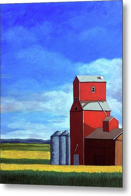 Standing Tall Metal Print by Linda Apple