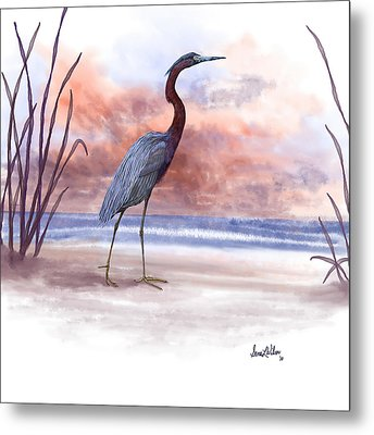 Metal Print featuring the painting Standing Tall by Sena Wilson